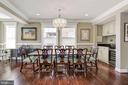 Large dining w/serving area - 5536 30TH PL NW, WASHINGTON