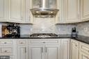 and marble backsplash. - 5536 30TH PL NW, WASHINGTON