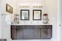 Owner's bath with double sink - 5536 30TH PL NW, WASHINGTON