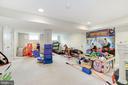 Lower level playroom - 5536 30TH PL NW, WASHINGTON