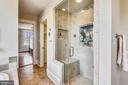 Master Bath Shower - 201 W WALNUT ST, ALEXANDRIA