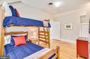 Bedroom on Upper 2 - 201 W WALNUT ST, ALEXANDRIA