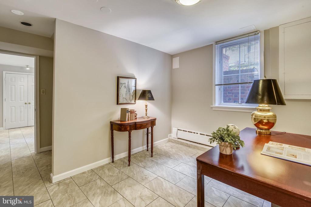 Bonus room on Lower Level - 201 W WALNUT ST, ALEXANDRIA