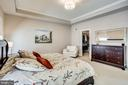 Complete with tray ceiling and walk-in closet - 44536 STEPNEY DR, ASHBURN