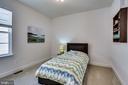Charming bedroom 3 on upper level - 44536 STEPNEY DR, ASHBURN