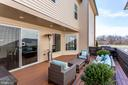 Entertain friends and family on this great patio - 44536 STEPNEY DR, ASHBURN