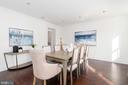 Formal Dining room - 2715 N ST NW, WASHINGTON