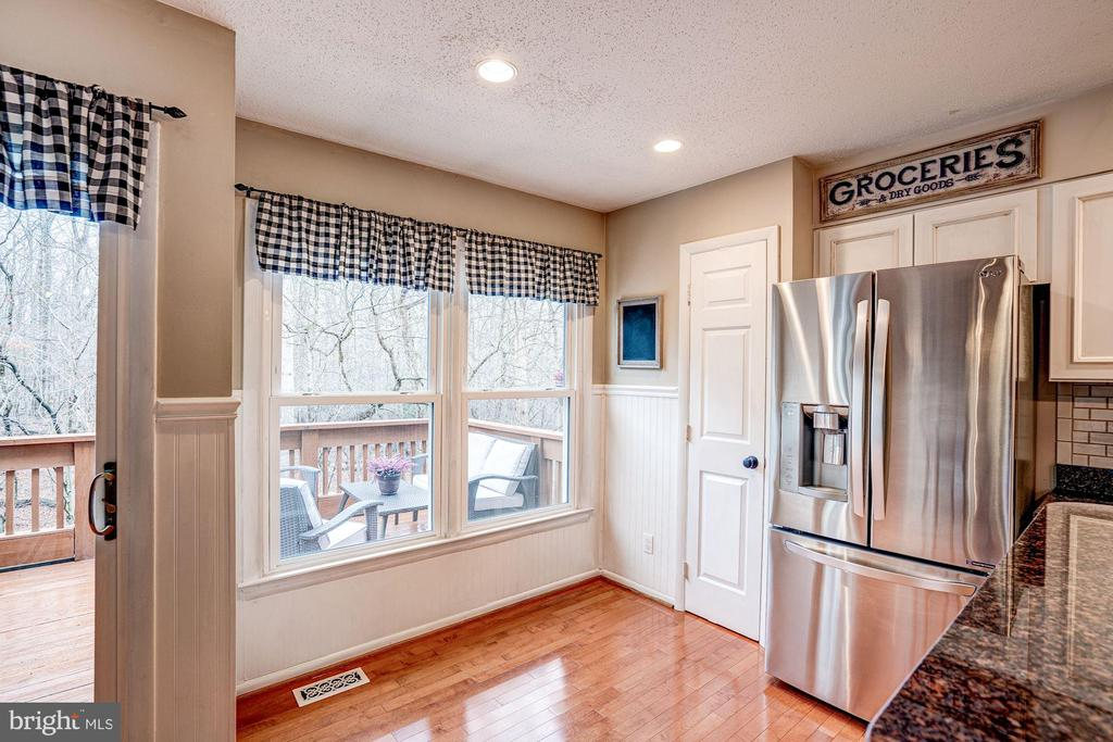 Kitchen - Wall of Windows & Pantry! - 1614 OAK SPRING WAY, RESTON