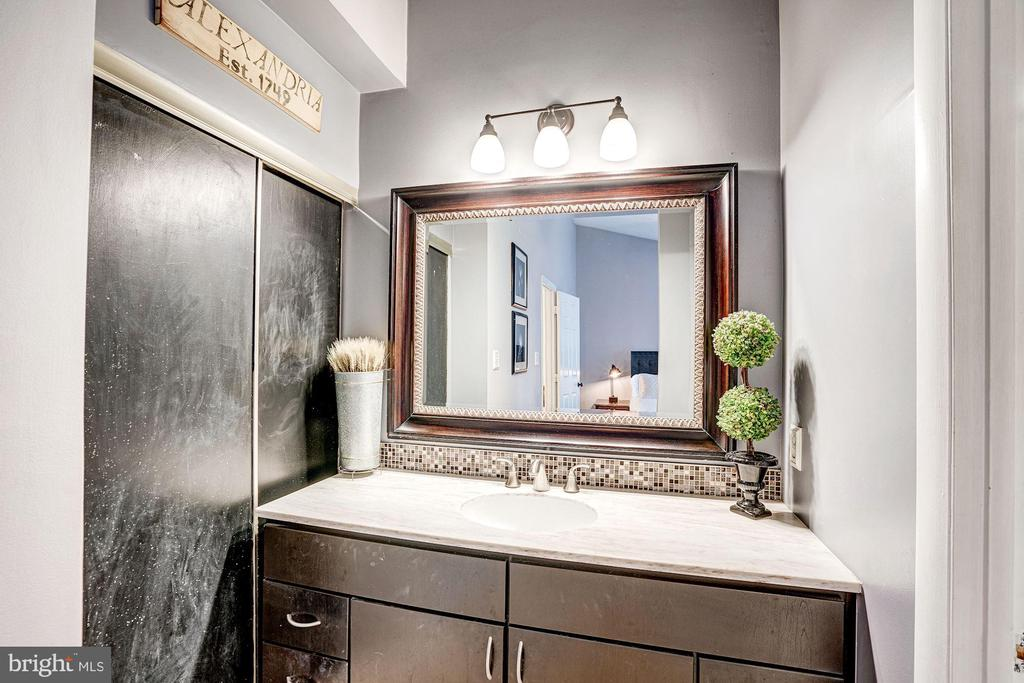 Master Bathroom Separate Vanity Area! - 1614 OAK SPRING WAY, RESTON