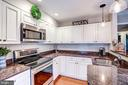 Kitchen - Granite Counter Tops! - 1614 OAK SPRING WAY, RESTON