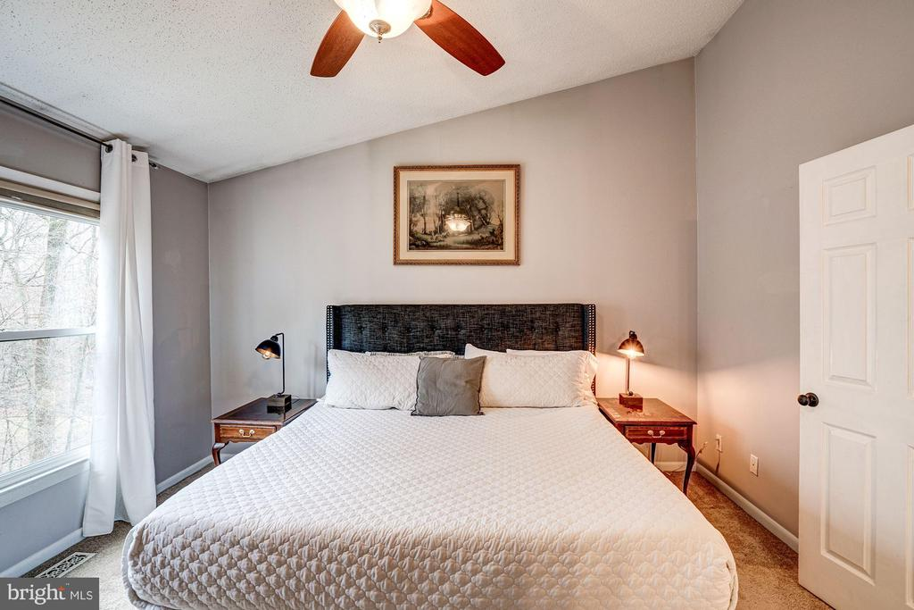 Master Bedroom - Easily Fits a King Size Bed! - 1614 OAK SPRING WAY, RESTON