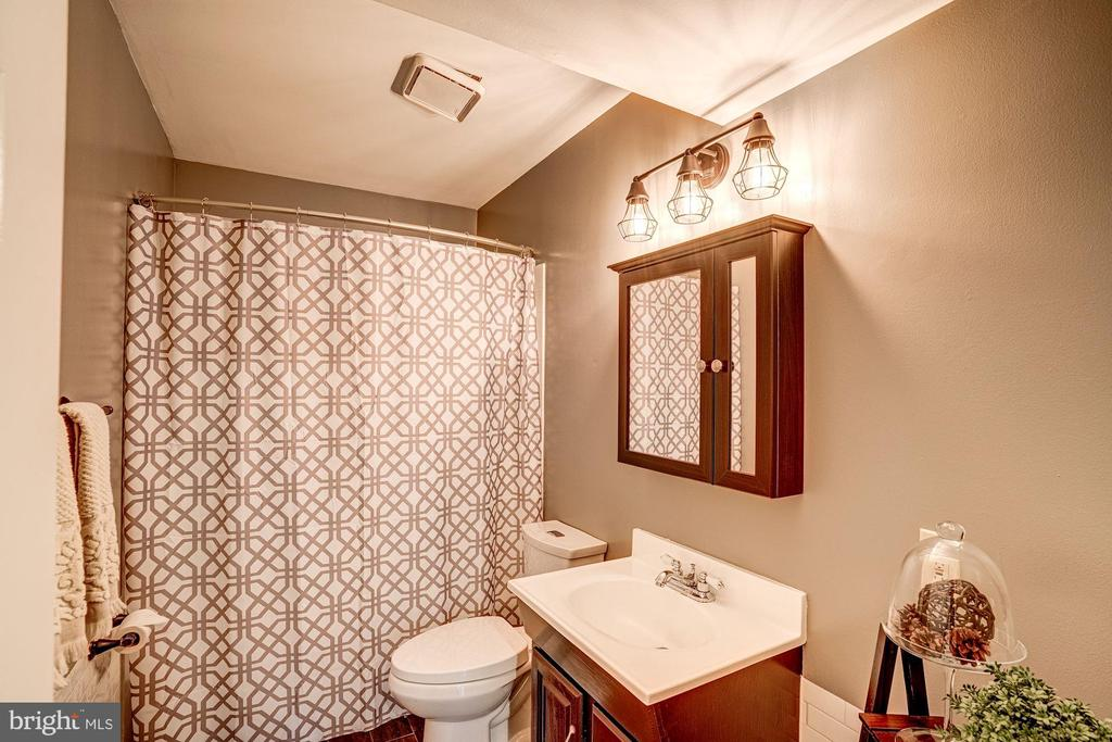 Full Bathroom #3 - Renovated - 1614 OAK SPRING WAY, RESTON