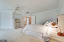 Master Bedroom - 19800 HELMOND WAY, MONTGOMERY VILLAGE