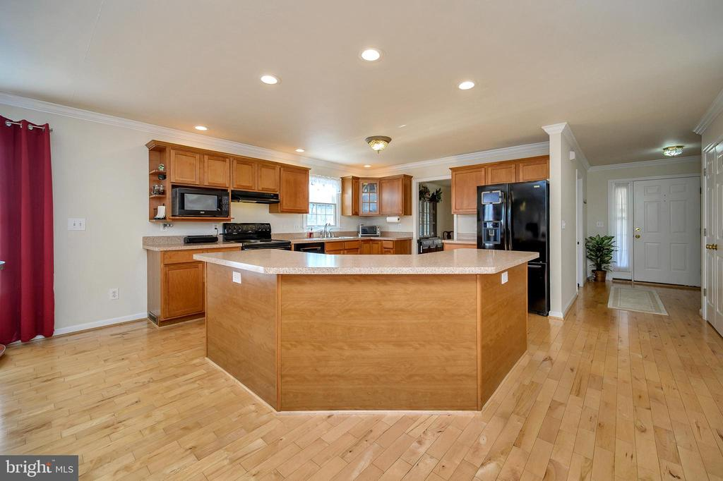 Spectacular kitchen fit for a chef. - 200 SAND TRAP LN, LOCUST GROVE