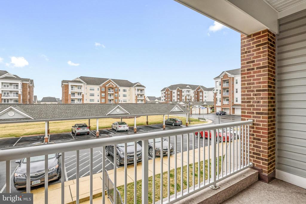 Great Balcony & View of Community - 20570 HOPE SPRING TER #206, ASHBURN