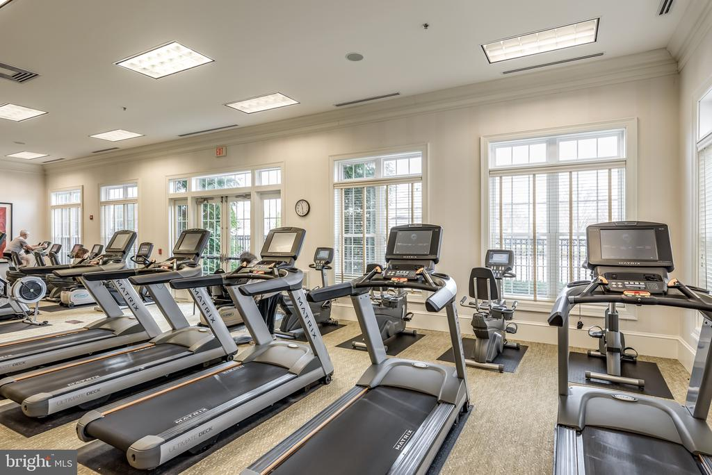 Fitness Center - 20570 HOPE SPRING TER #206, ASHBURN