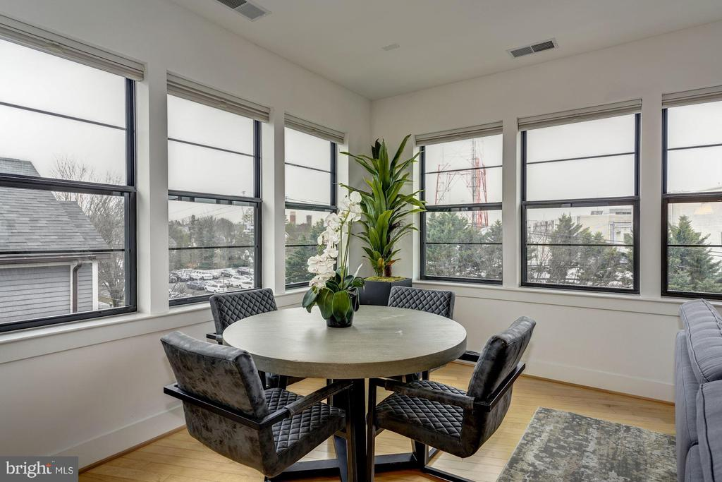 Dining Room - 5201 WISCONSIN AVE NW #401, WASHINGTON
