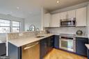 Kitchen - 5201 WISCONSIN AVE NW #401, WASHINGTON