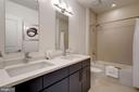 Master Bathroom - 5201 WISCONSIN AVE NW #401, WASHINGTON