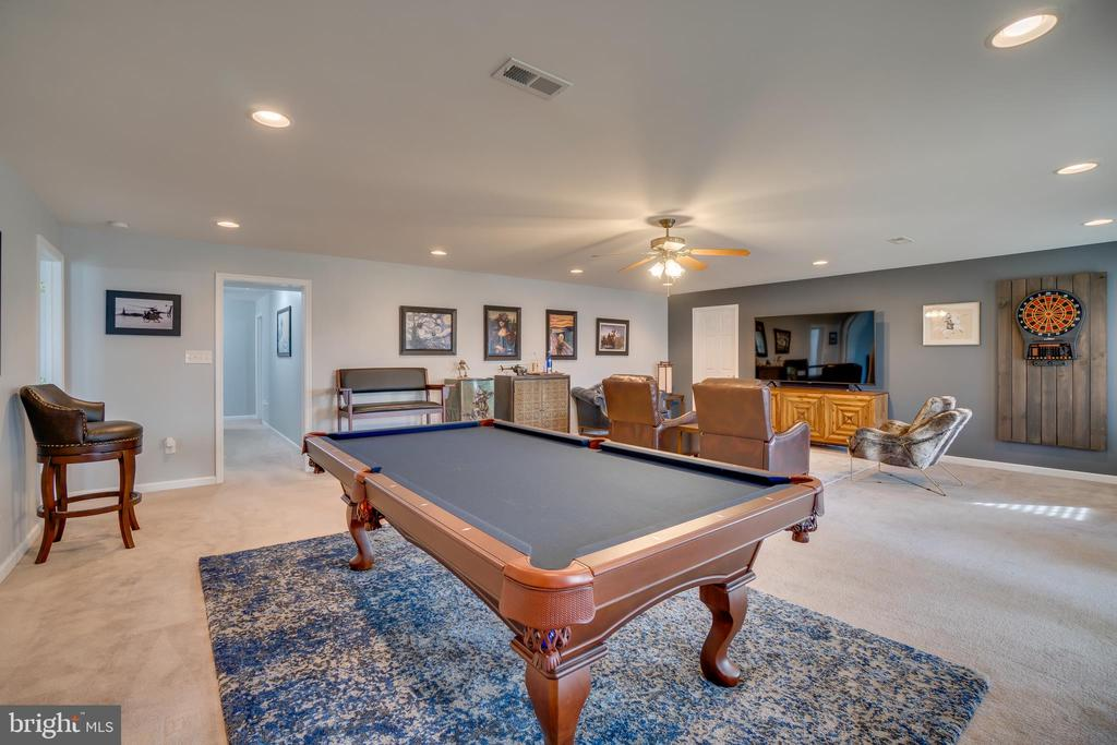 Large Basement Rec Area - 81 SENTINEL RIDGE LN, STAFFORD