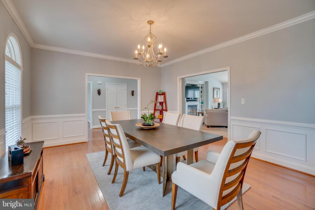 Elegant Formal Dining Room - 81 SENTINEL RIDGE LN, STAFFORD