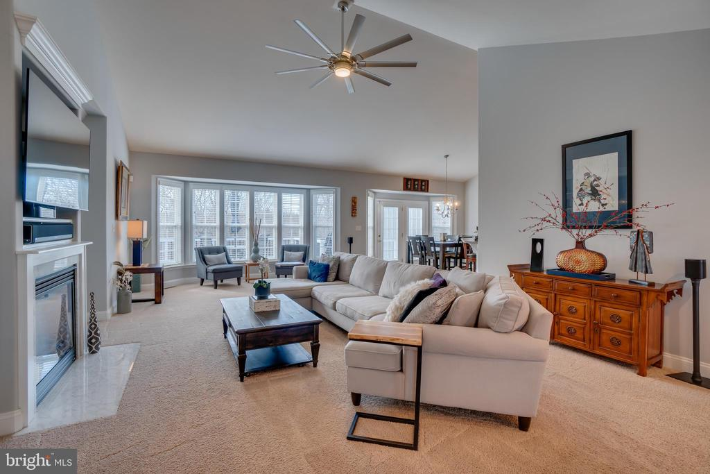 Impressive Family Room View - 81 SENTINEL RIDGE LN, STAFFORD
