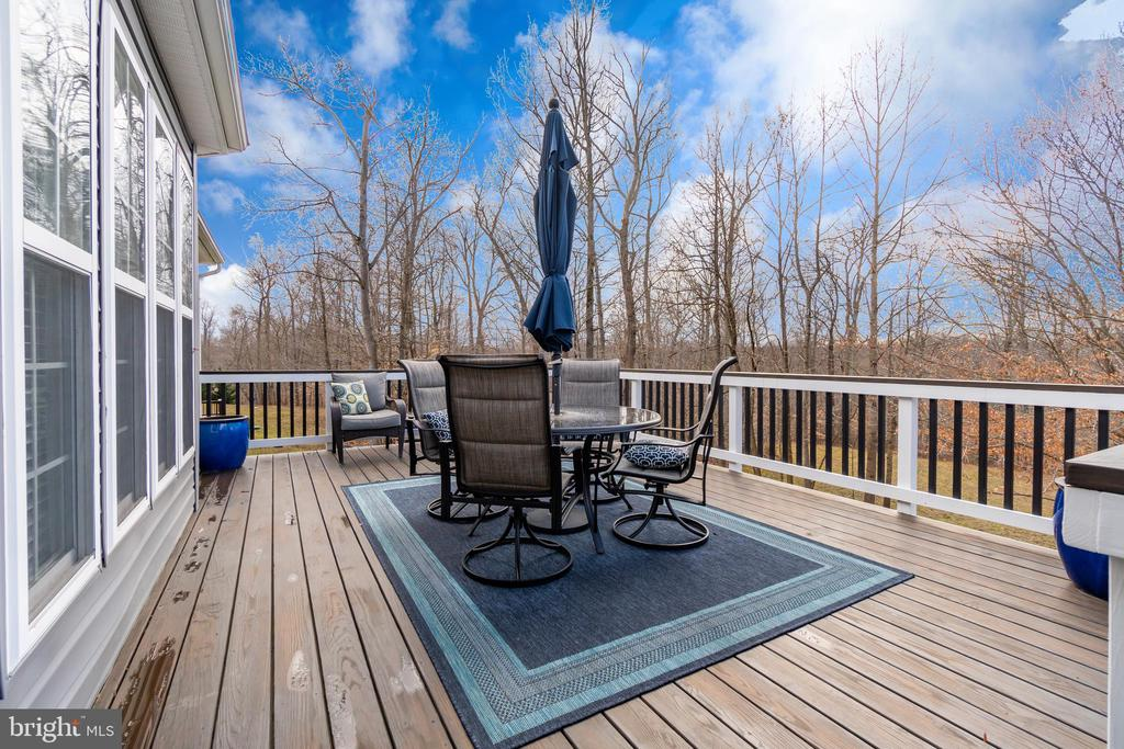 ~20' x 14' Deck with 5' x 10' Landing - 81 SENTINEL RIDGE LN, STAFFORD