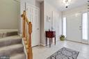 Lower Level Foyer - 5353 TORTOISE PL, WOODBRIDGE