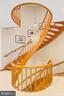 Custom spiral staircase - 2344 S ST NW, WASHINGTON