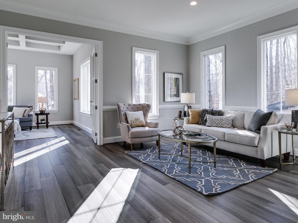Living Room - 9978 BLACKBERRY LN, GREAT FALLS