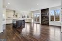 Chefs Kitchen and Breakfast Room - 11022 BLEVINS DR, CLARKSVILLE