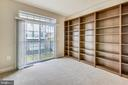Second bedroom with built ins and balcony - 363 BELT PL, GAITHERSBURG