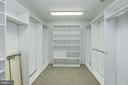 walk-in closet off the 5th bedroom - 3818 N RANDOLPH CT, ARLINGTON