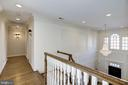 wood floors and wall sconces in all halls - 3818 N RANDOLPH CT, ARLINGTON