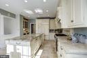 paneled SubZero refrigerator, Bosch dishwasher - 3818 N RANDOLPH CT, ARLINGTON