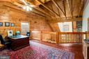 Upper level loft/study  overlooks master suite - 33150 HUMMINGBIRD LN, LOCUST GROVE