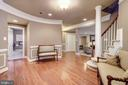 Elegant lower level entry from garage - 3942 27TH RD N, ARLINGTON