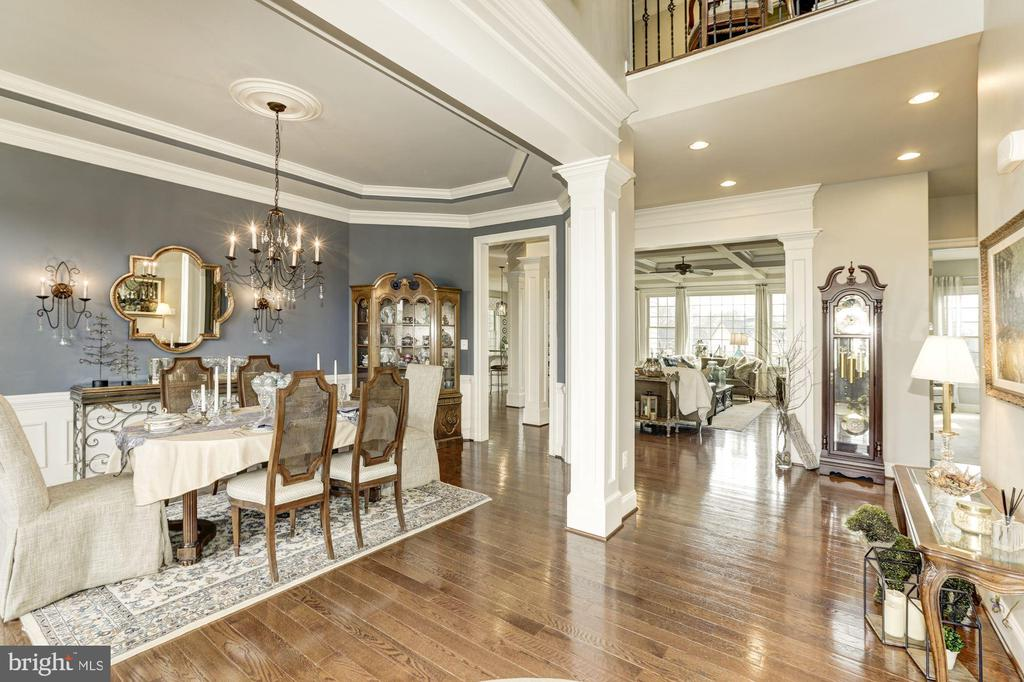 Open Dining Room - 26858 WINTER WREN CT, CHANTILLY