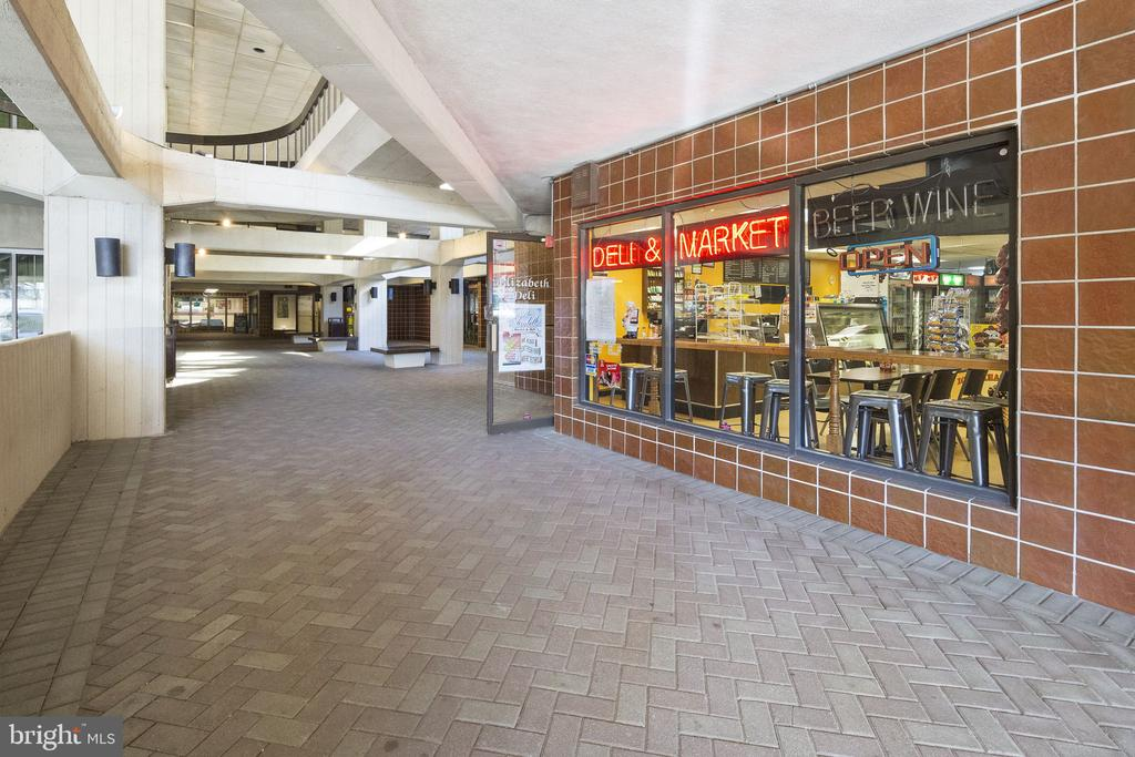 The Elizabeth Shopping Arcade. - 4601 N PARK AVE #1706, CHEVY CHASE