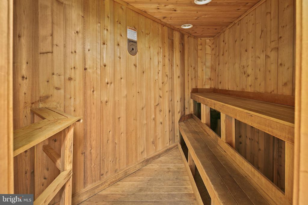 Sauna - 4601 N PARK AVE #1706, CHEVY CHASE