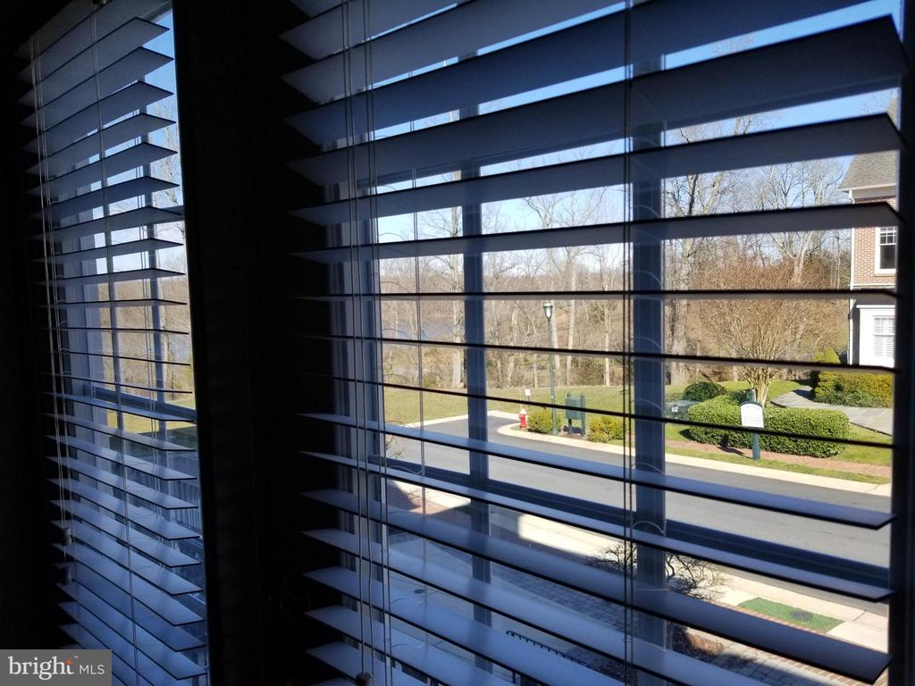 View from Living Room to Golf Course & River - 18213 CYPRESS POINT TER, LEESBURG