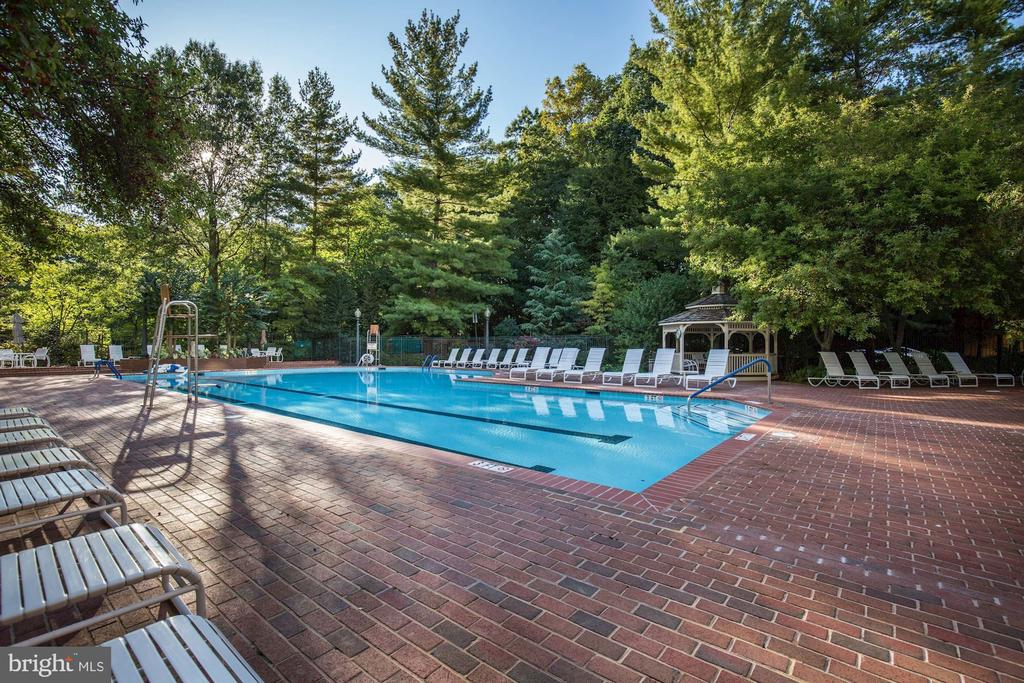 Outdoor pool - 5600 WISCONSIN AVE #902, CHEVY CHASE