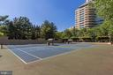 Somerset House tennis courts - 5600 WISCONSIN AVE #902, CHEVY CHASE