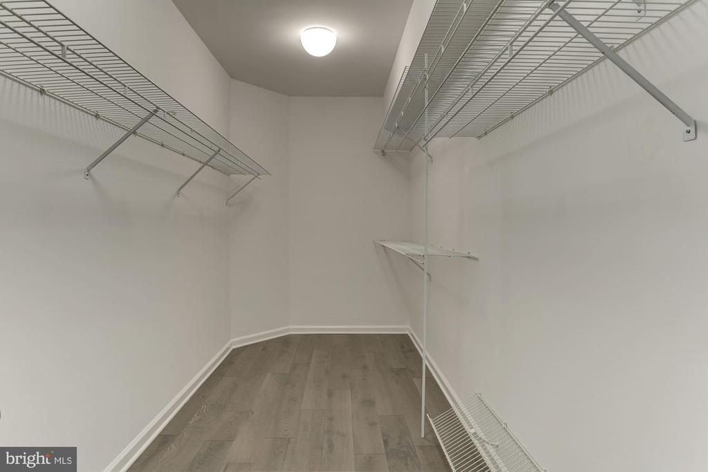 Huge closet in the master suite - 5600 WISCONSIN AVE #902, CHEVY CHASE