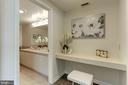 Master suite dressing area - 5600 WISCONSIN AVE #902, CHEVY CHASE