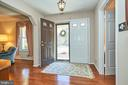 Gleaming hardwood floors - 914 ROLLING HOLLY DR, GREAT FALLS