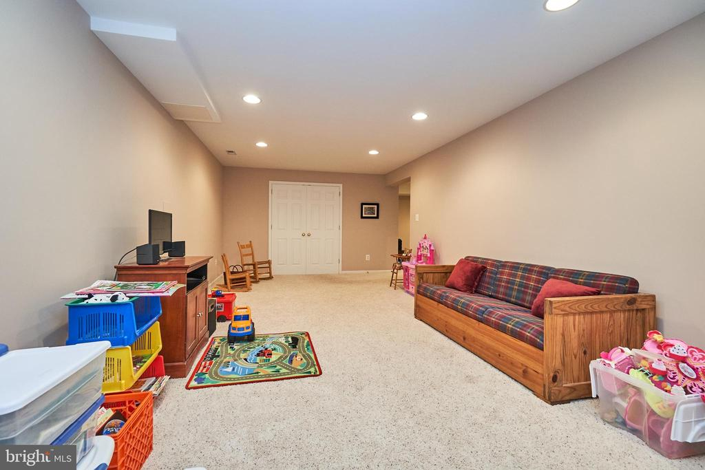 Recreation room (couch can convey) - 914 ROLLING HOLLY DR, GREAT FALLS