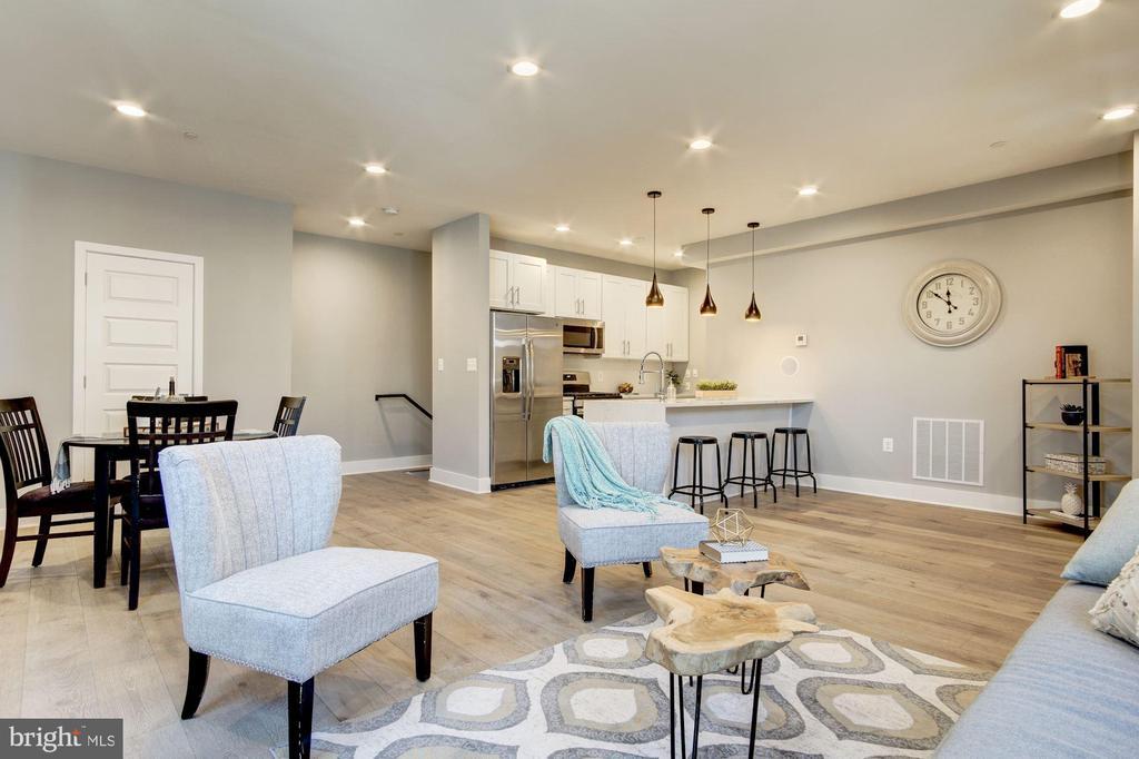 Open Floor Plan - 1838 PROVIDENCE ST NE #1, WASHINGTON