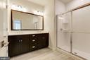 Melbourne Master Bathroom - 23265 MILLTOWN KNOLL SQ #106, ASHBURN