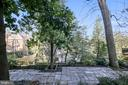 Backyard perched on a hill with treetop views - 2607 31ST ST NW, WASHINGTON